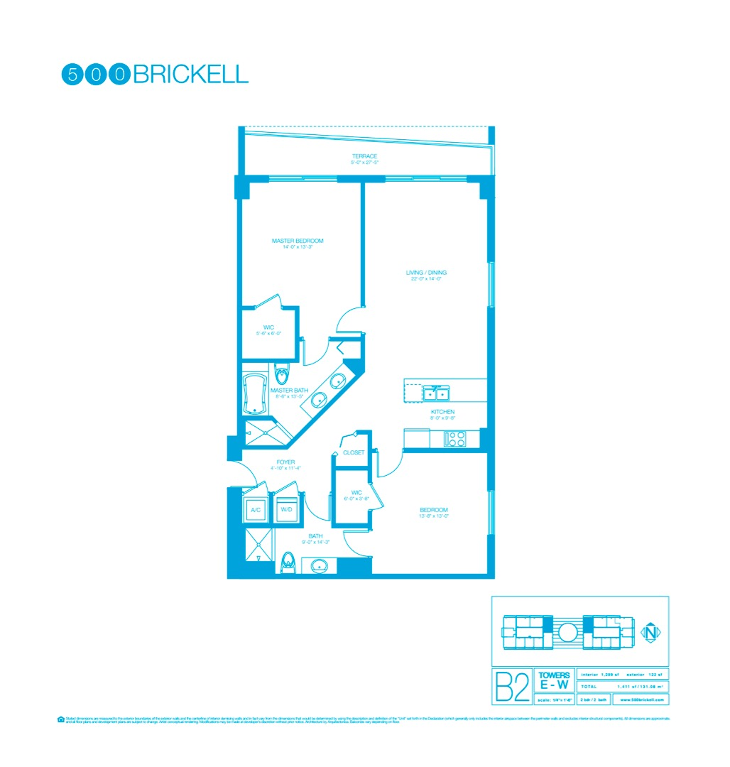Floor plan image B2 - 2/2  - 1289 sqft image