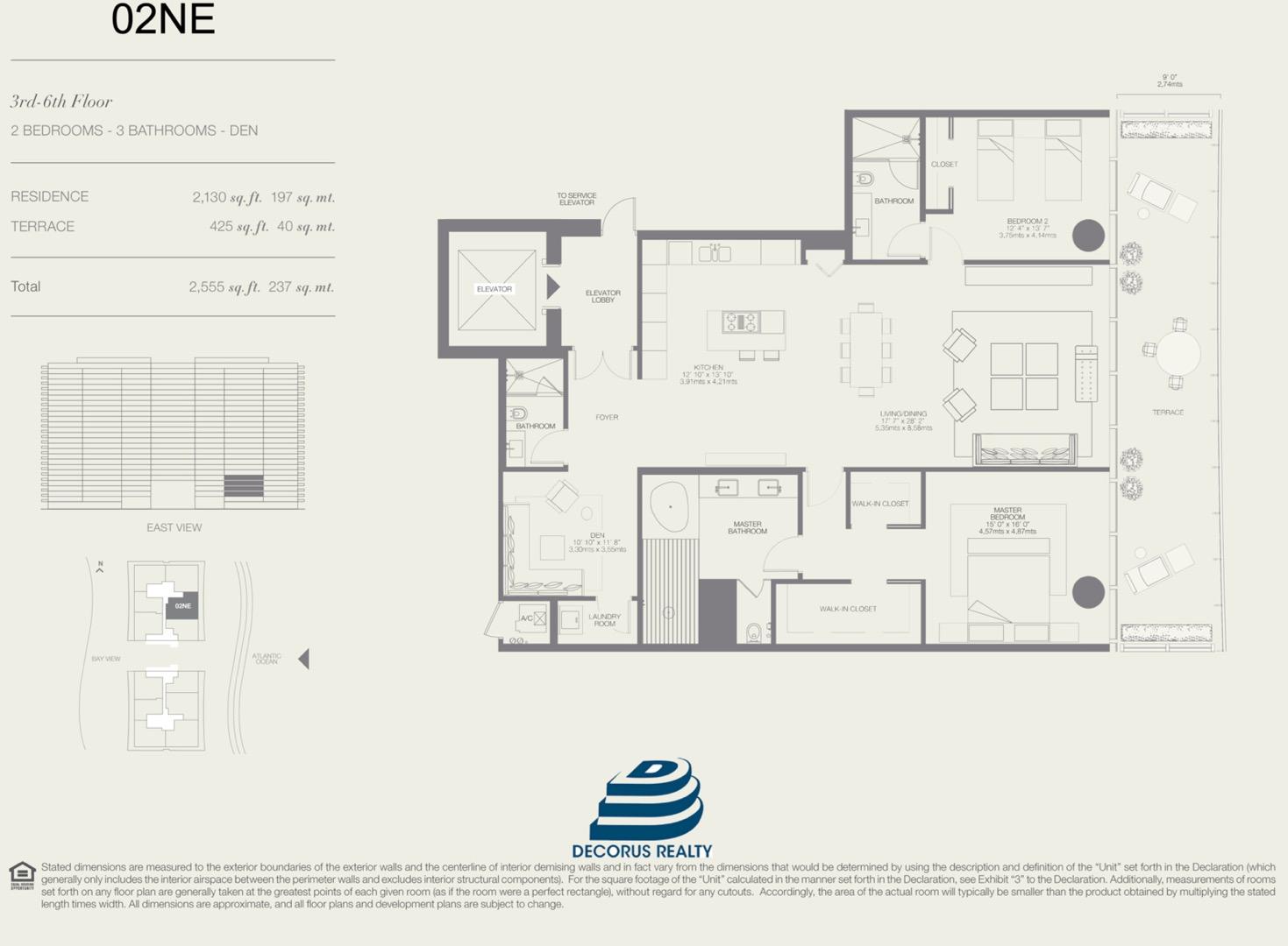 Floor plan image 02NE - 2/3  - 2130 sqft image