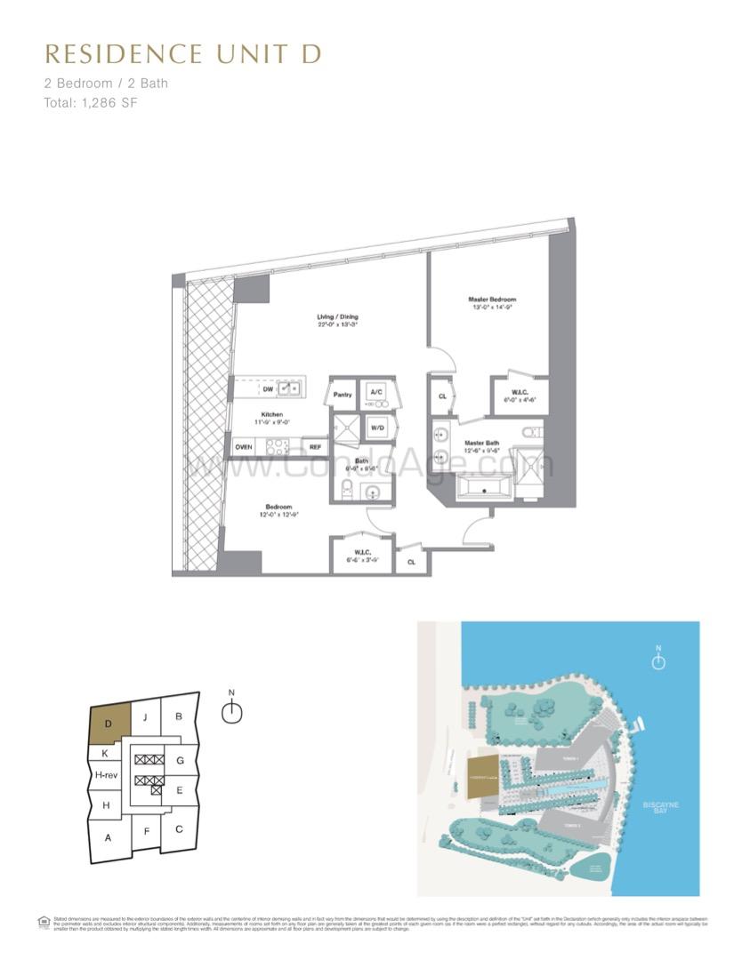 Floor plan image D - 2/2  - 1286 sqft image