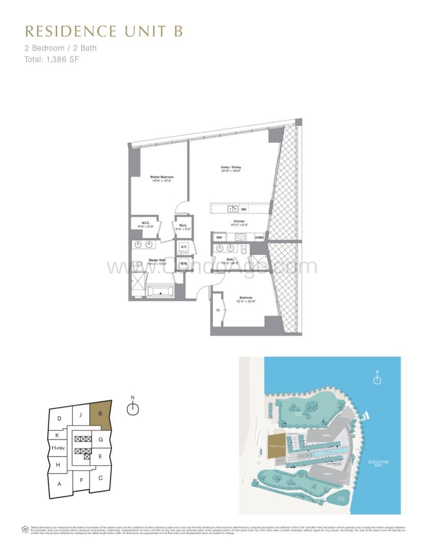 Floor plan image B - 2/2  - 1386 sqft image