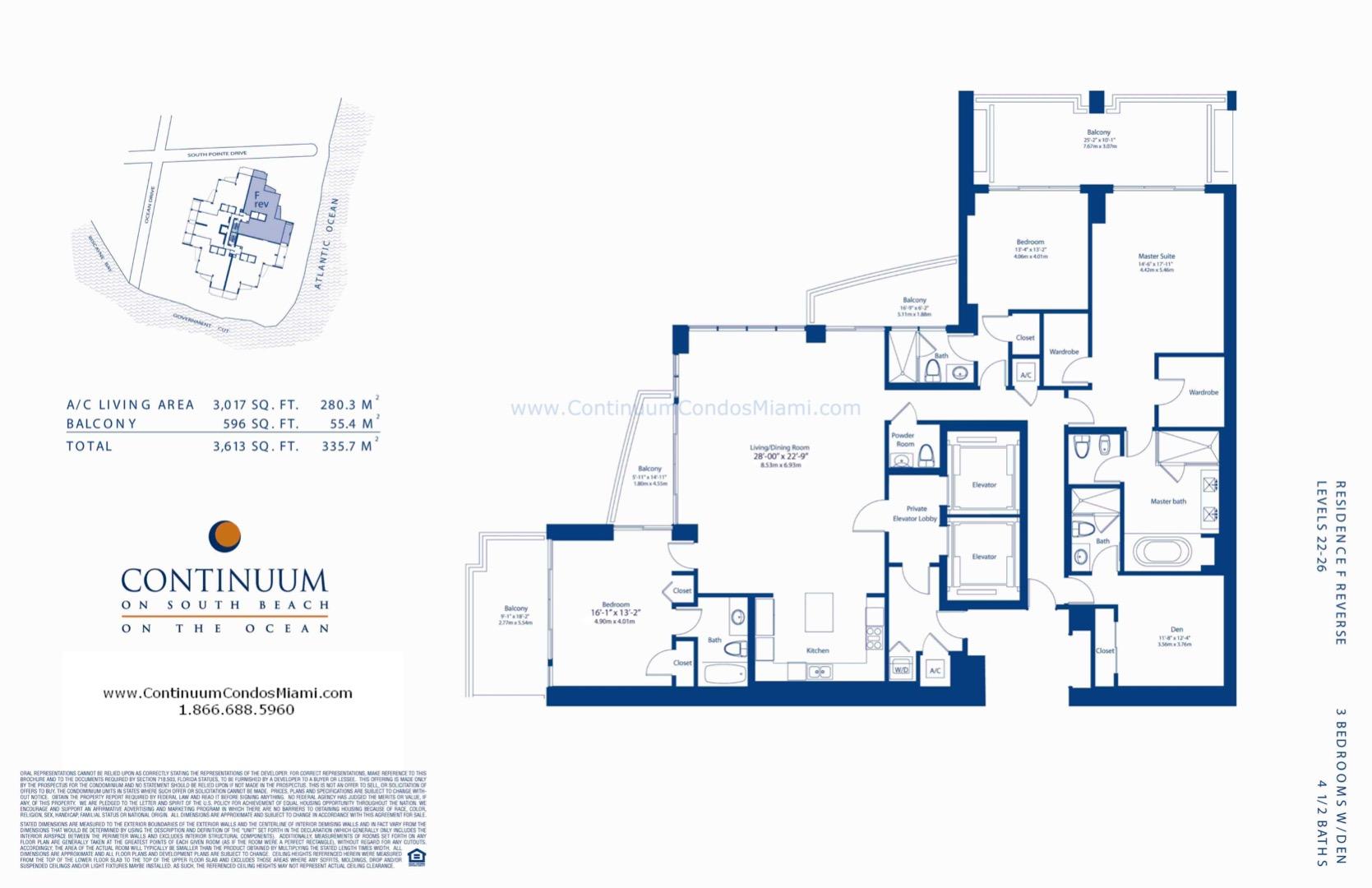 Floor plan image F-reversed - 3/4/1  - 3017 sqft image