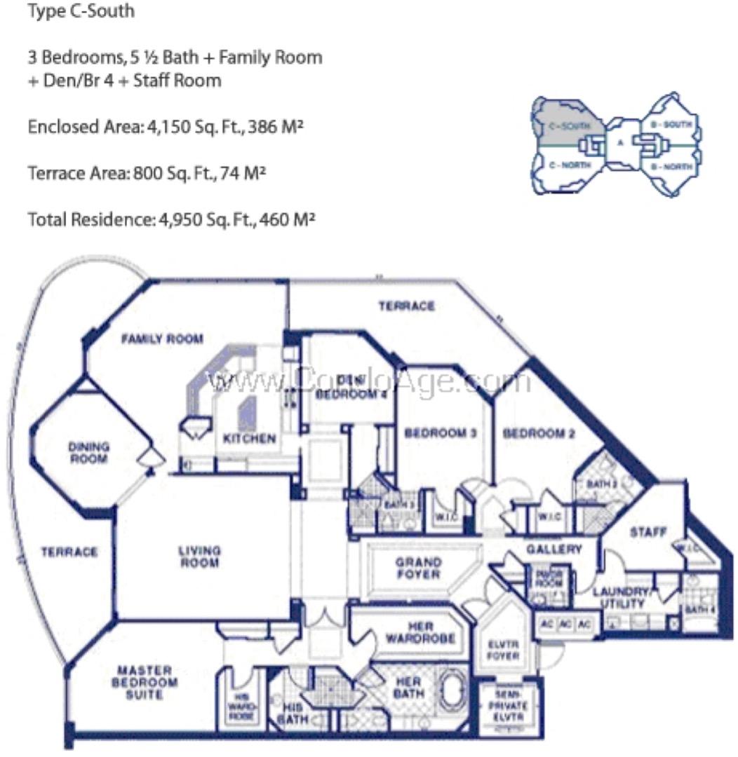 Floor plan image CS - 3/5/1  - 4150 sqft image