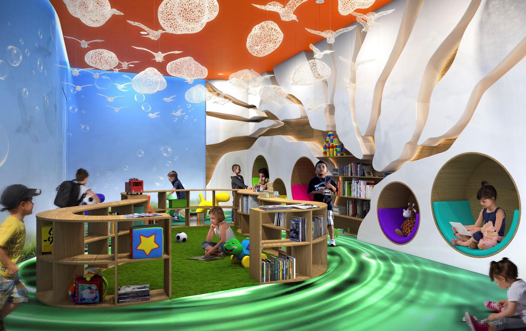 Children's play area image