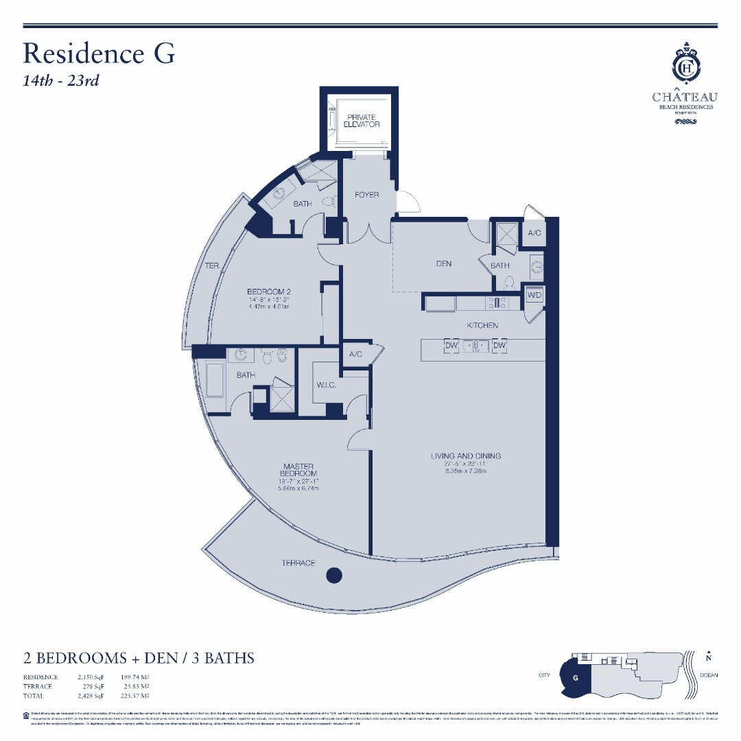03-G | 1503 - 2303 floor plan image