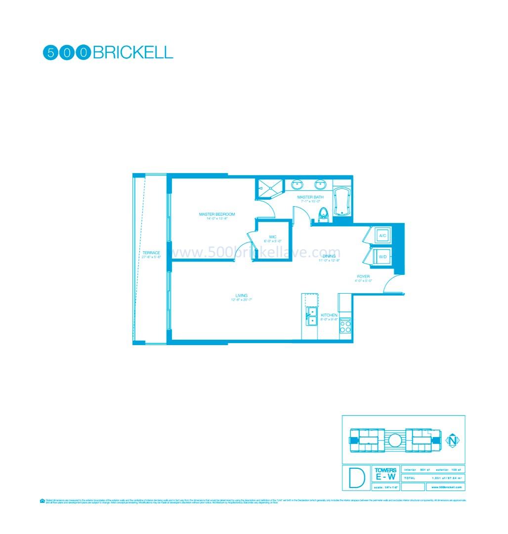 Floor plan image D - 1/1  - 901 sqft image