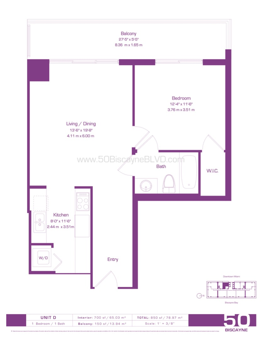 Floor plan image D - 1/1  - 700 sqft image