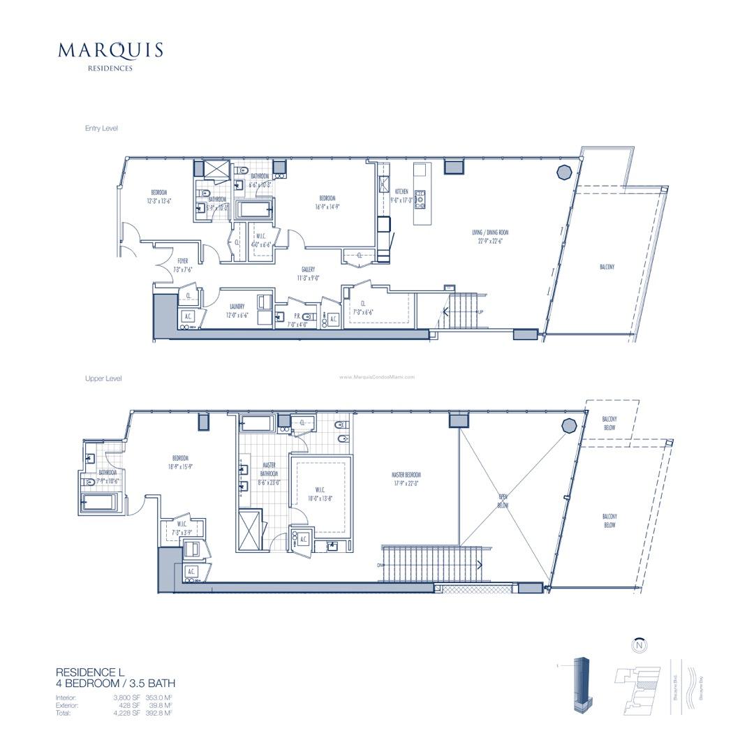 Floor plan image L - 4/3/1  - 3800 sqft image