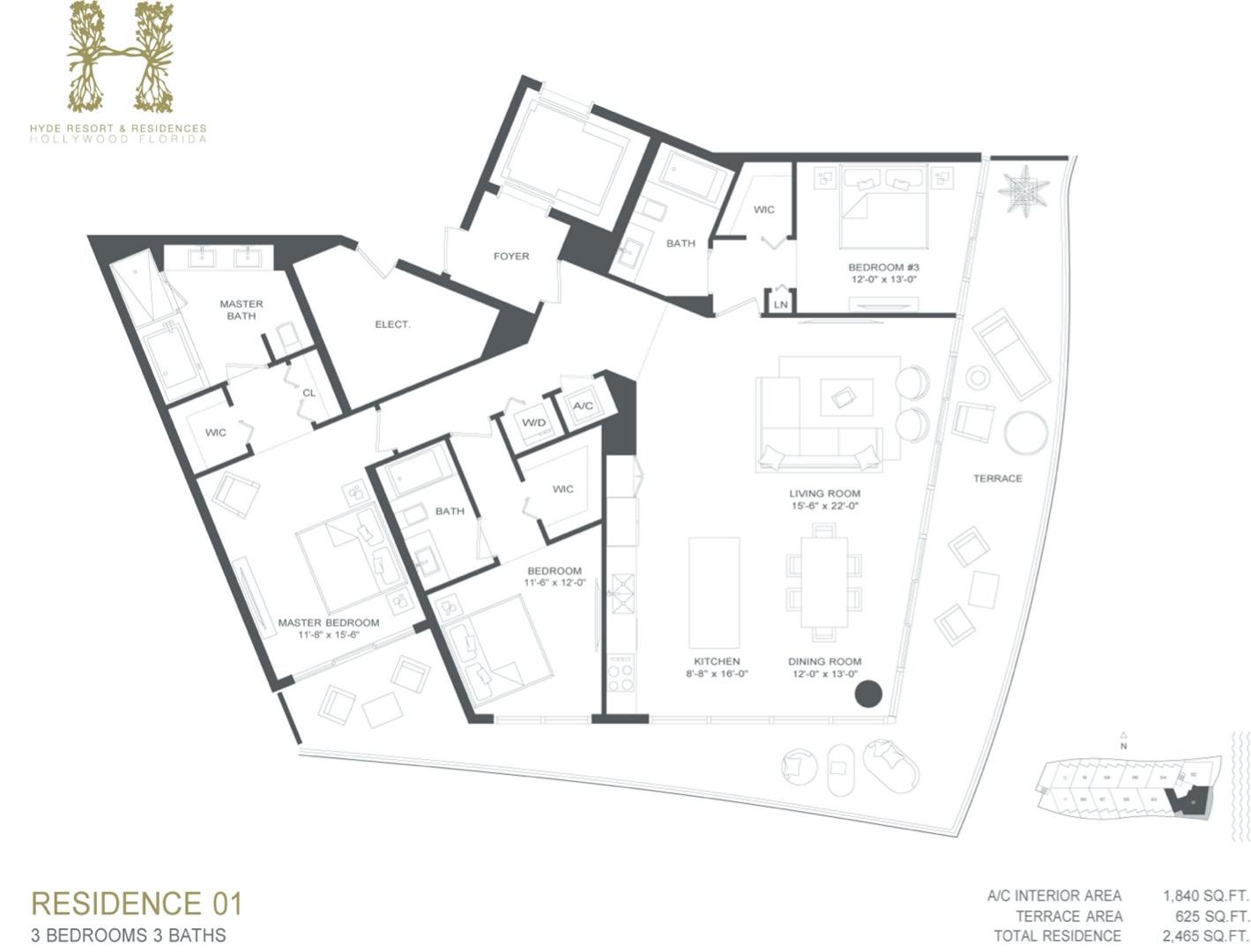 Floor plan image A - 3/3  - 1840 sqft image