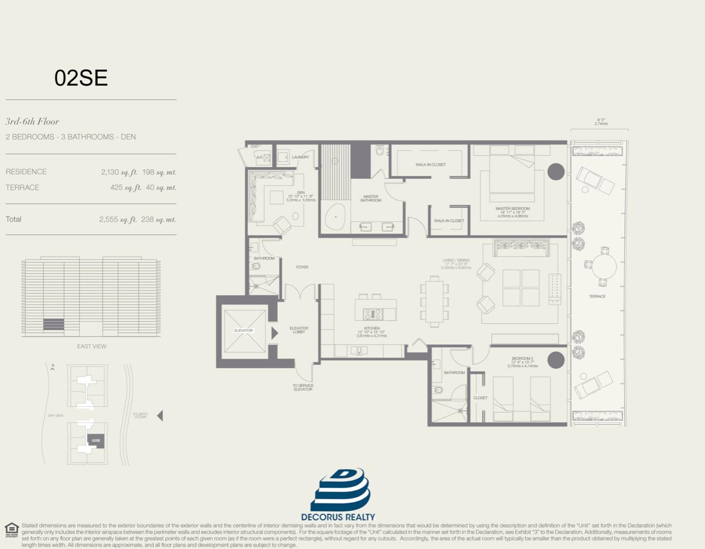 Floor plan image 02SE - 2/3  - 2130 sqft image