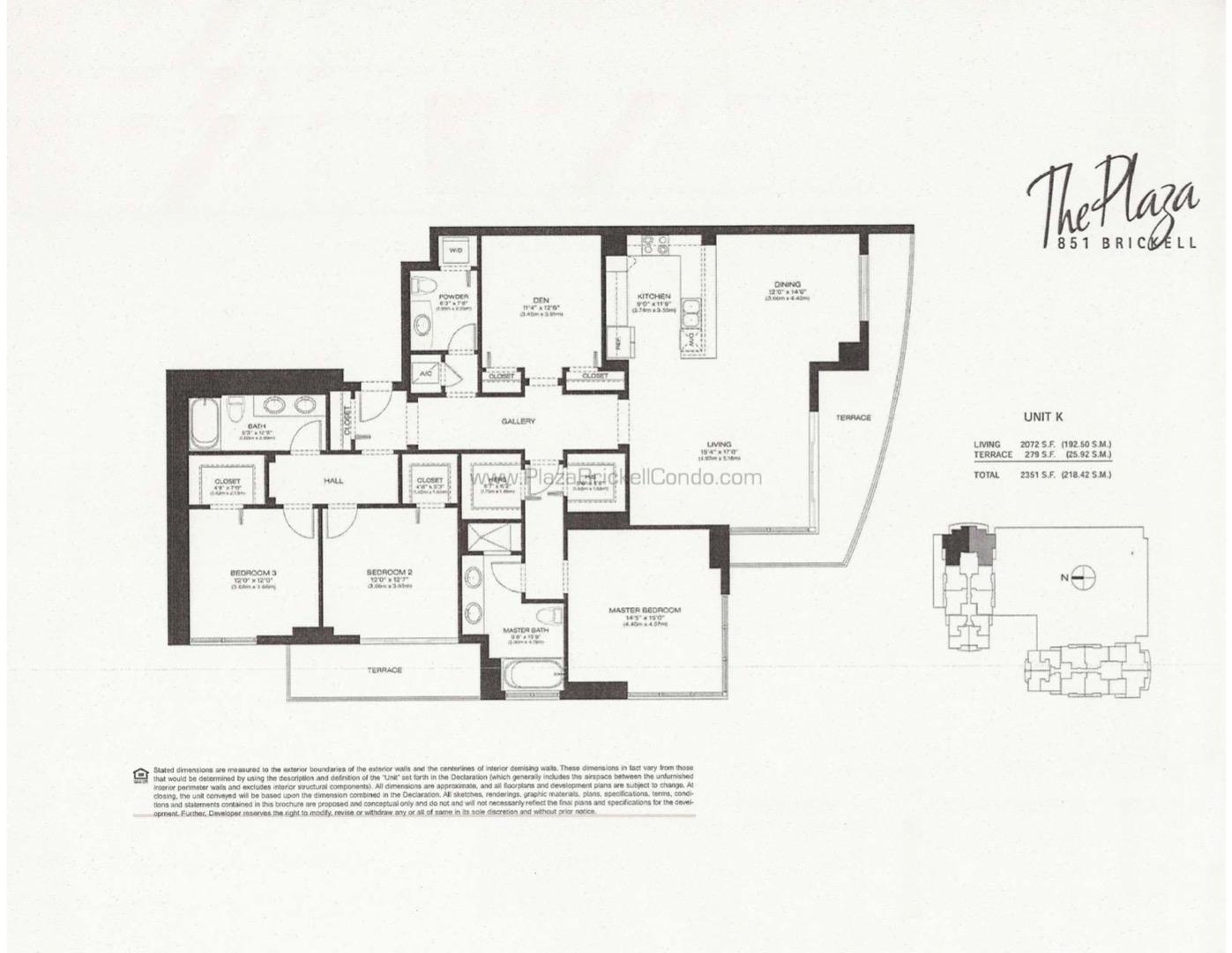 Floor plan image K - 3/2/1  - 2072 sqft image