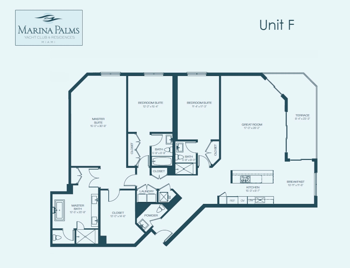 F floor plan image