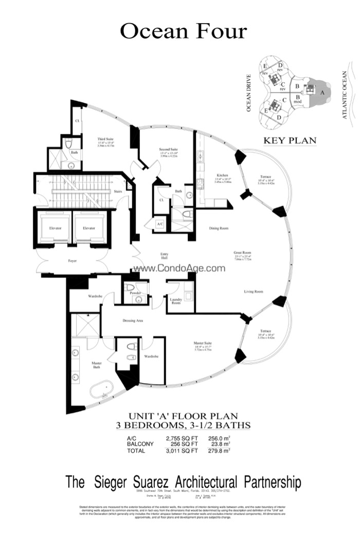 Floor plan image A - 3/3/1  - 2755 sqft image