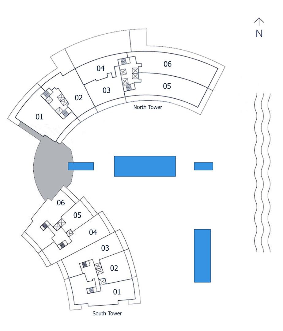 Key plan AubergeSitemapjpg image