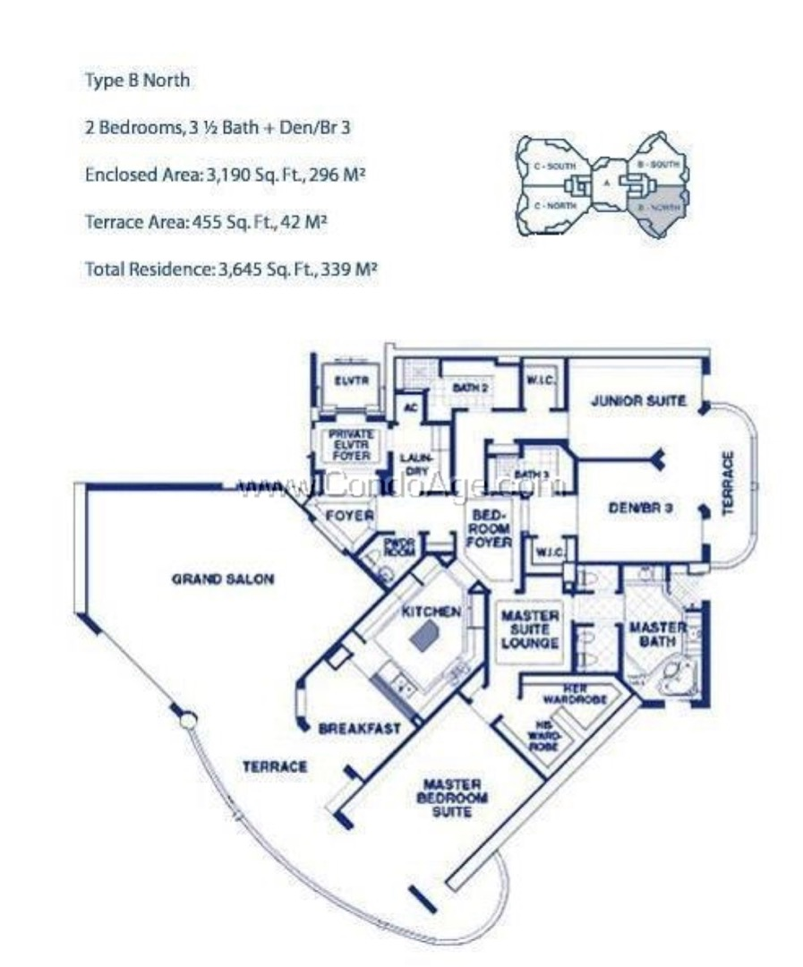 Floor plan image BN - 2/3/1  - 3190 sqft image