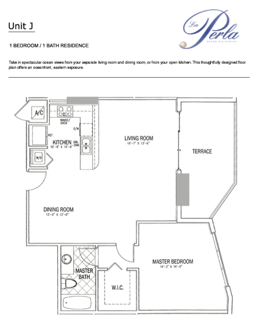Floor plan image J - 1/1  - 906 sqft image