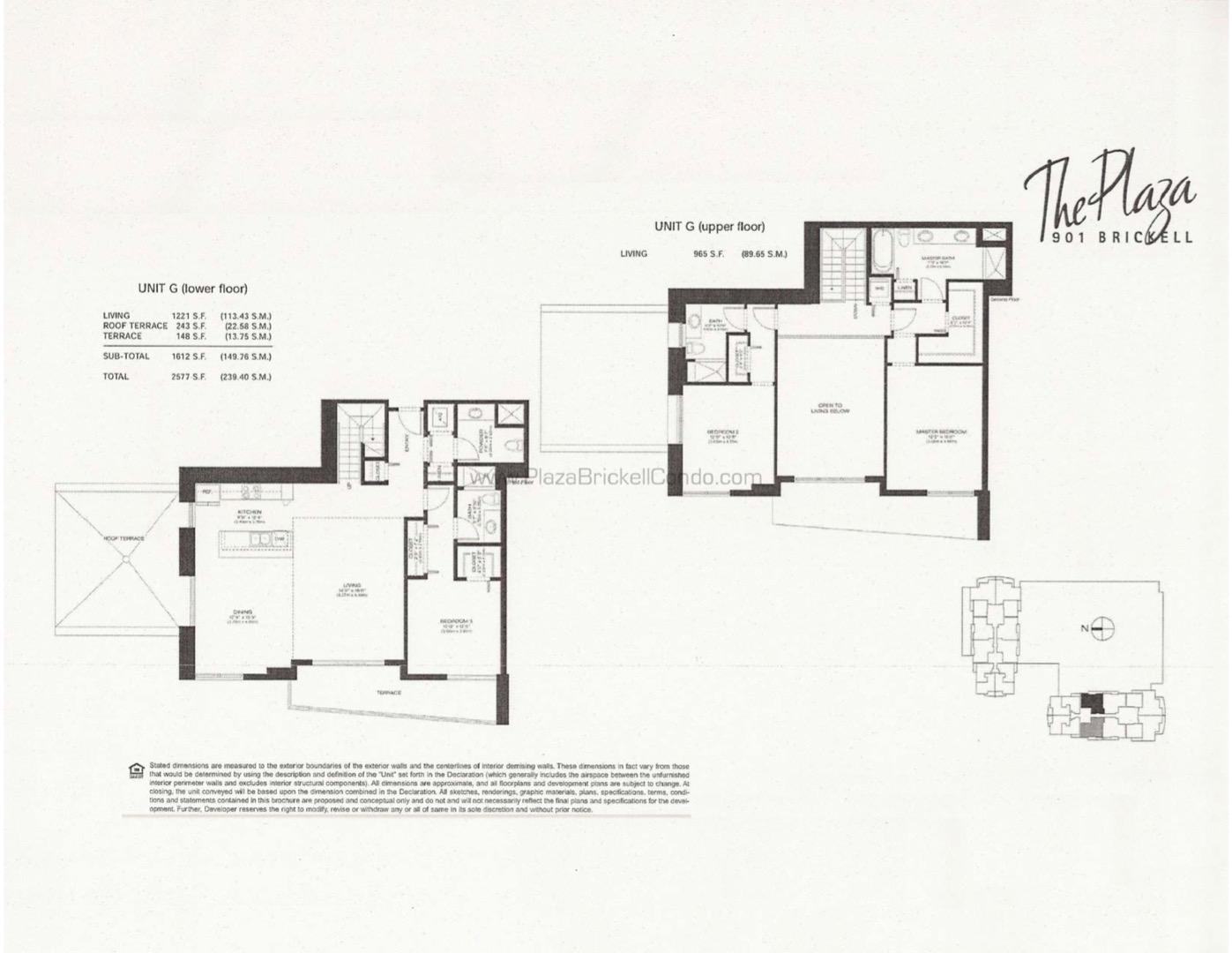 Floor plan image G - 3/3/1  - 2186 sqft image