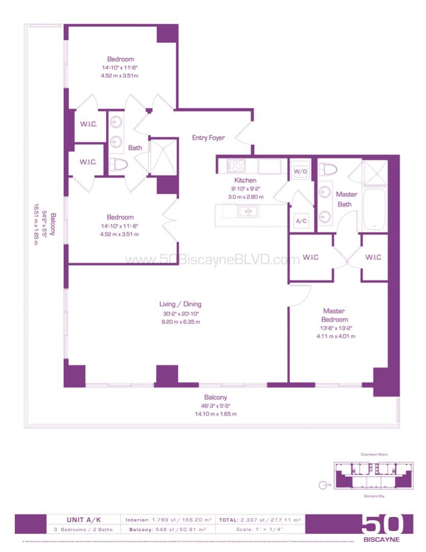 Floor plan image A-K - 3/2  - 1789 sqft image