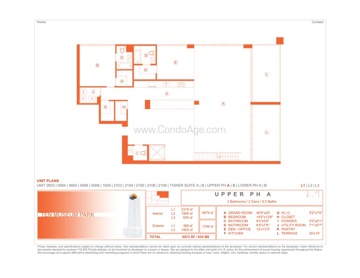 Floor plan image UPHA - 5/6/1  - 4879 sqft image