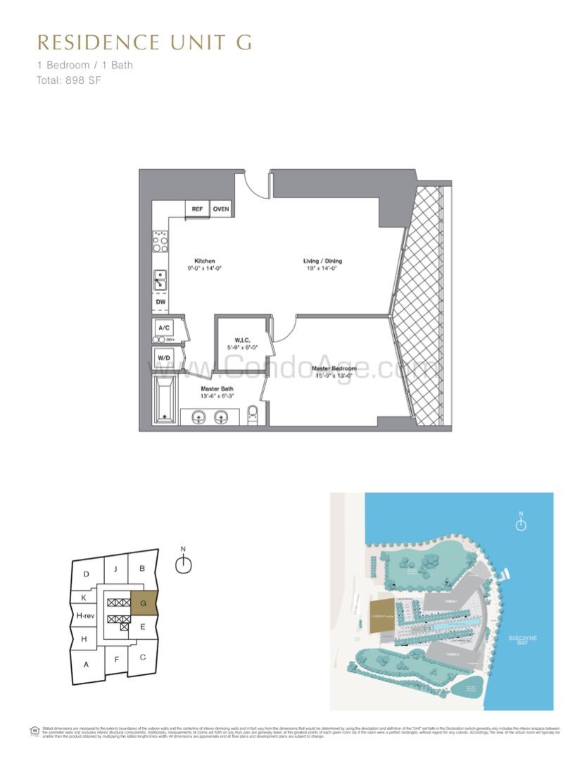 Floor plan image G - 1/1  - 898 sqft image