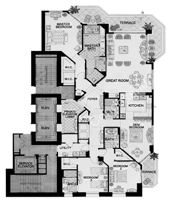 Floor plan image Toscana - 4/4  - 2750 sqft image