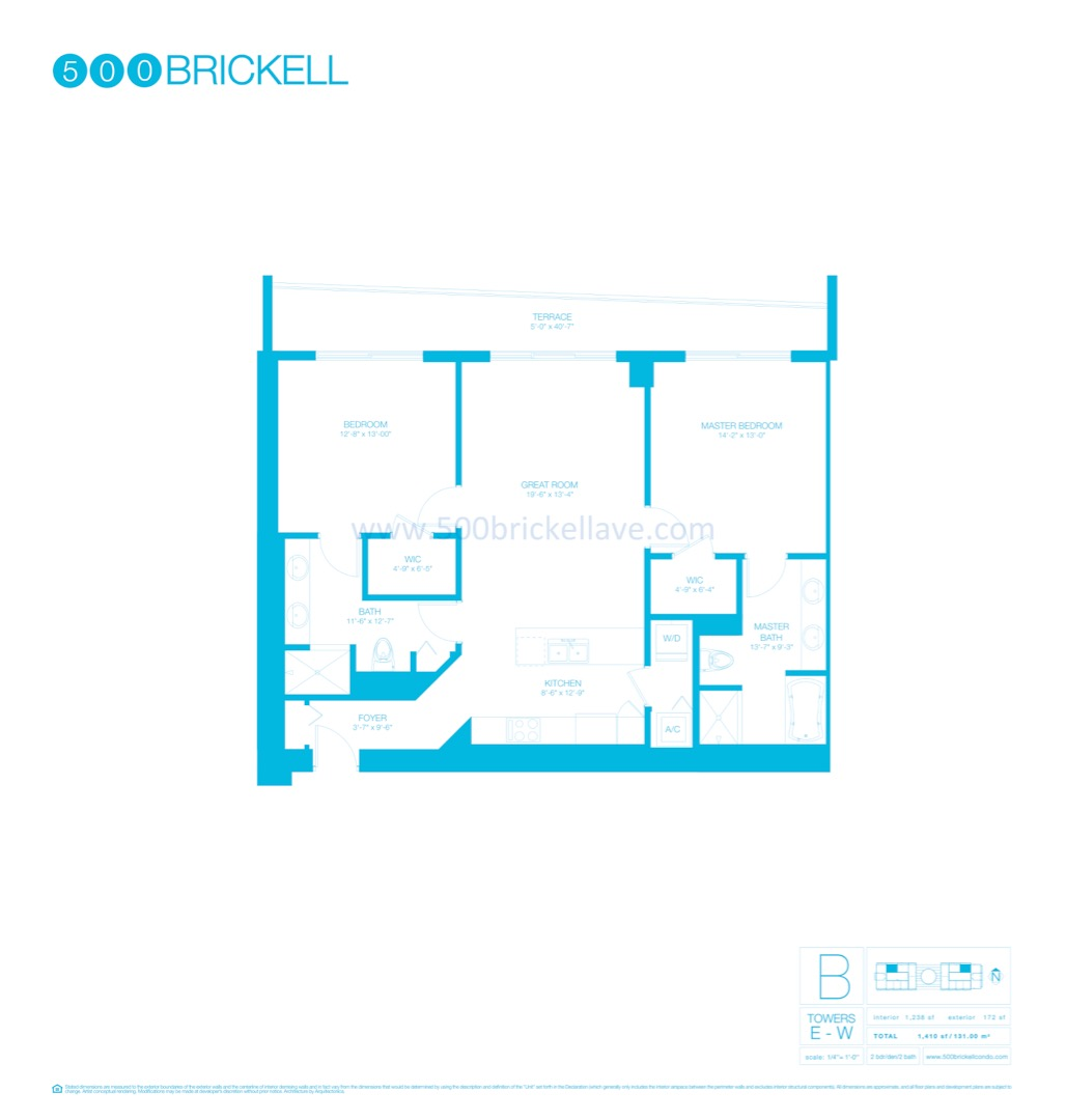 Floor plan image B - 2/2  - 1238 sqft image
