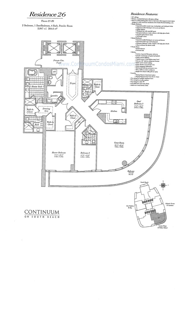 Floor plan image 26 - 3/4/1  - 2847 sqft image
