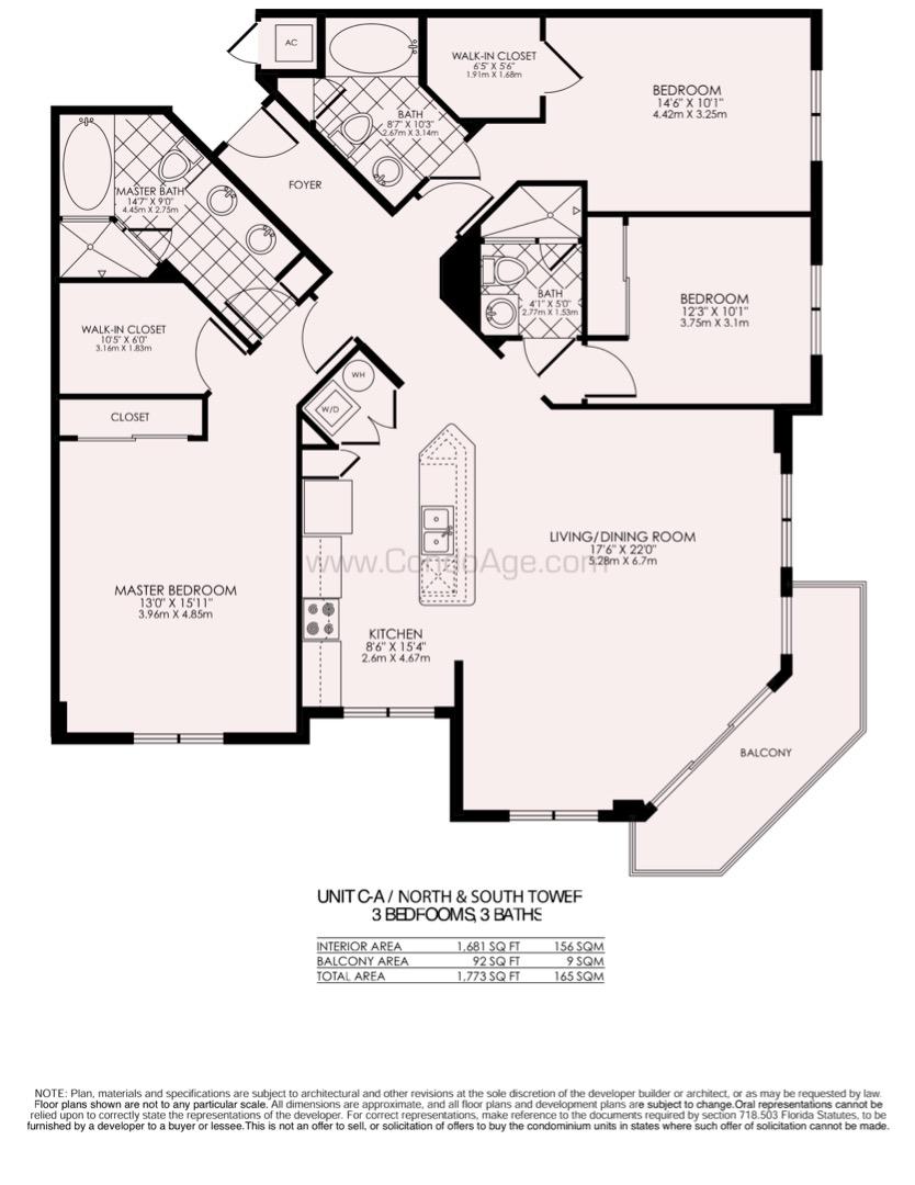 Floor plan image CA - 3/3  - 1681 sqft image