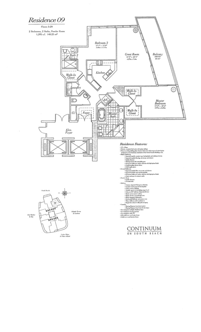 Floor plan image 09 - 2/2/1  - 1595 sqft image