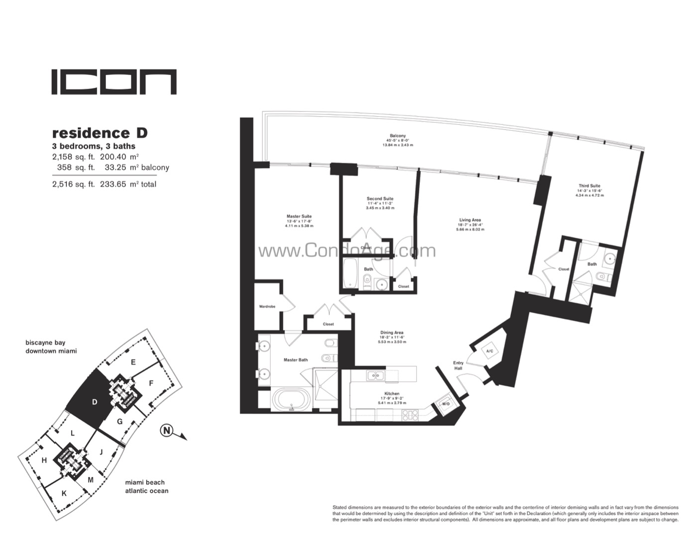 Floor plan image D - 3/3/0  - 2158 sqft image