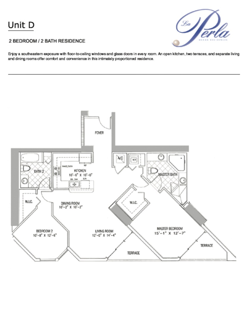Floor plan image D - 2/2  - 1266 sqft image