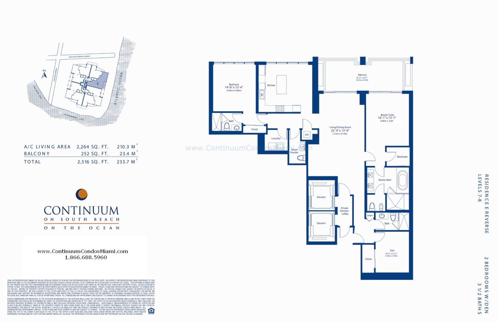 Floor plan image E-reversed-MOD - 2/3/1  - 2264 sqft image