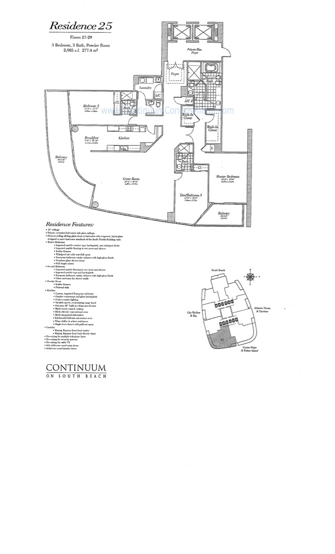 Floor plan image 25 - 2/2/1  - 1725 sqft image