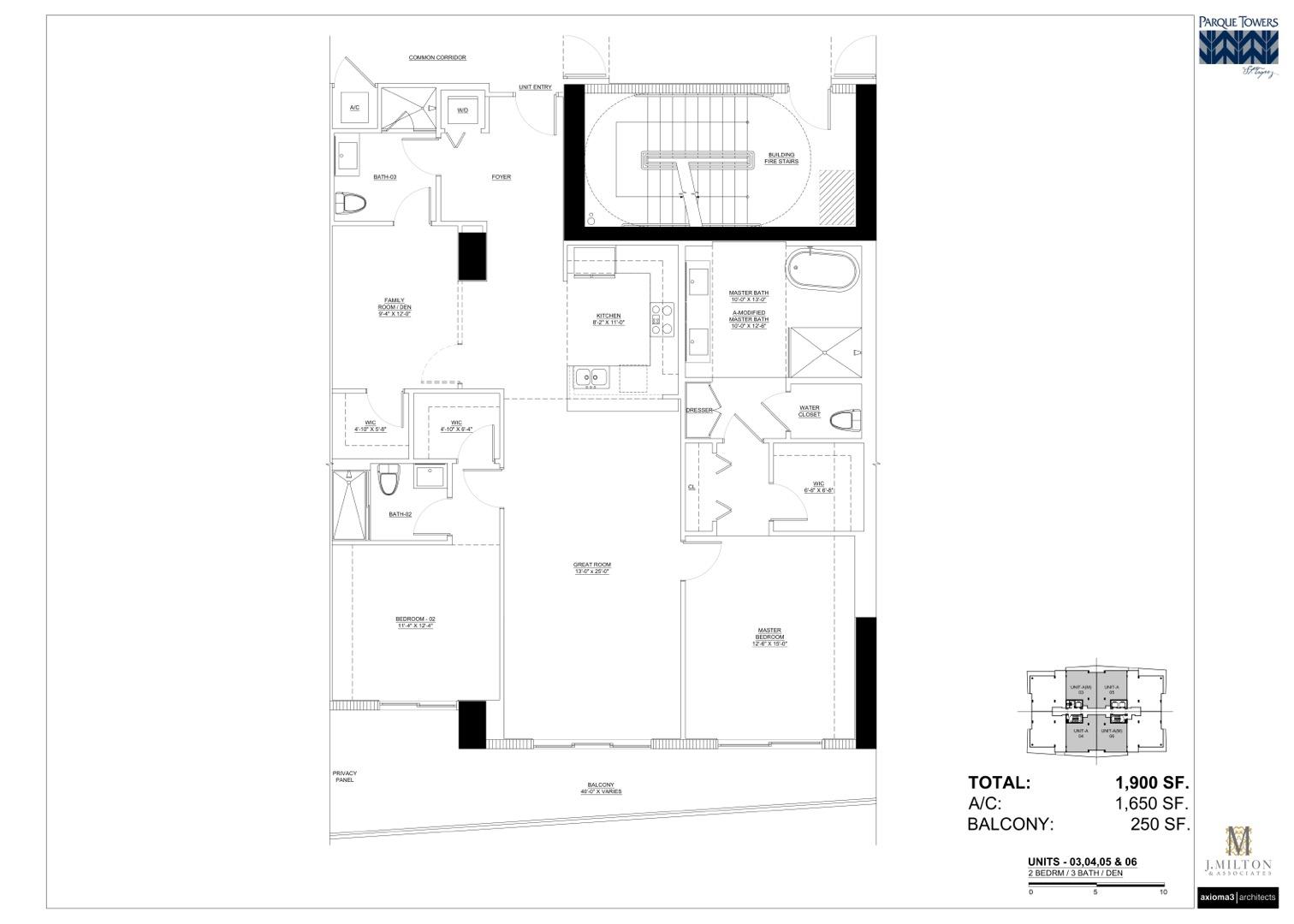 Unit A floor plan image