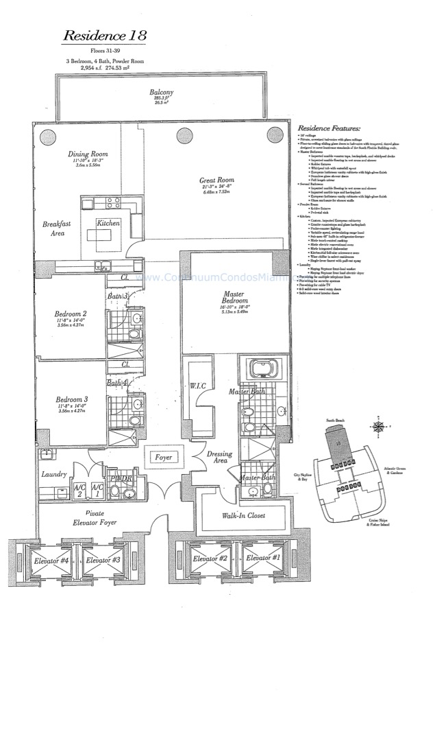 Floor plan image 18 - 5/5/0  - 2954 sqft image