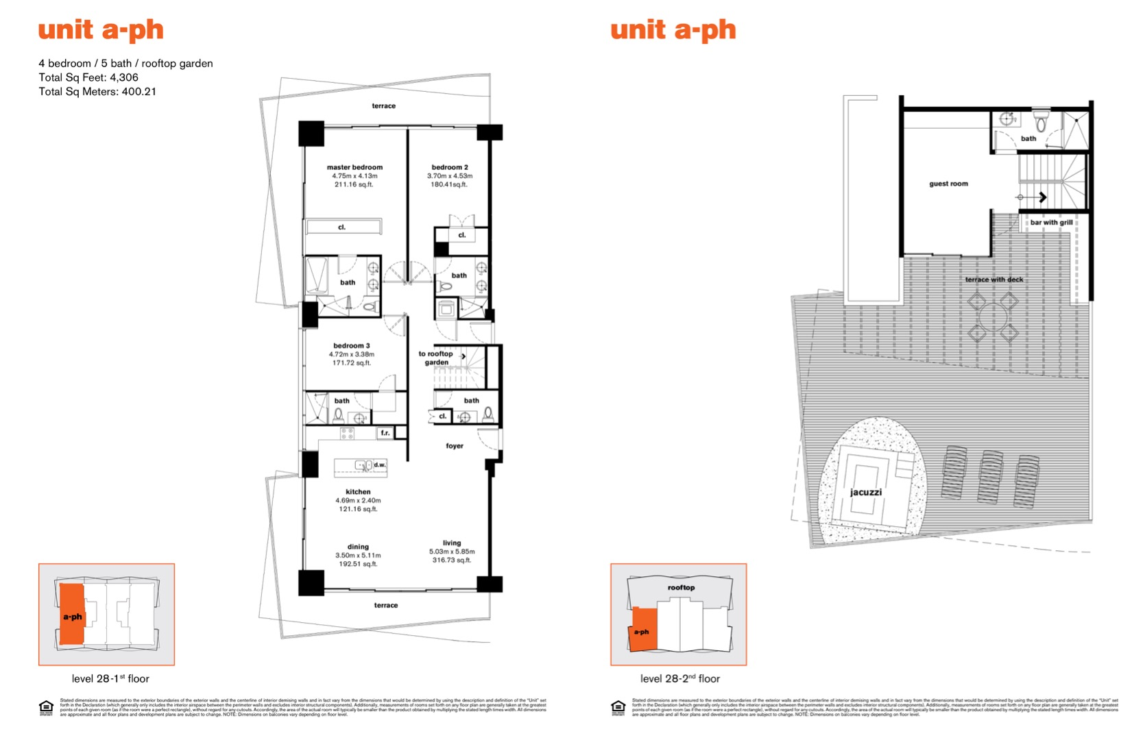 Floor plan image PHAr - 4/5/Garden  - 4306 sqft image