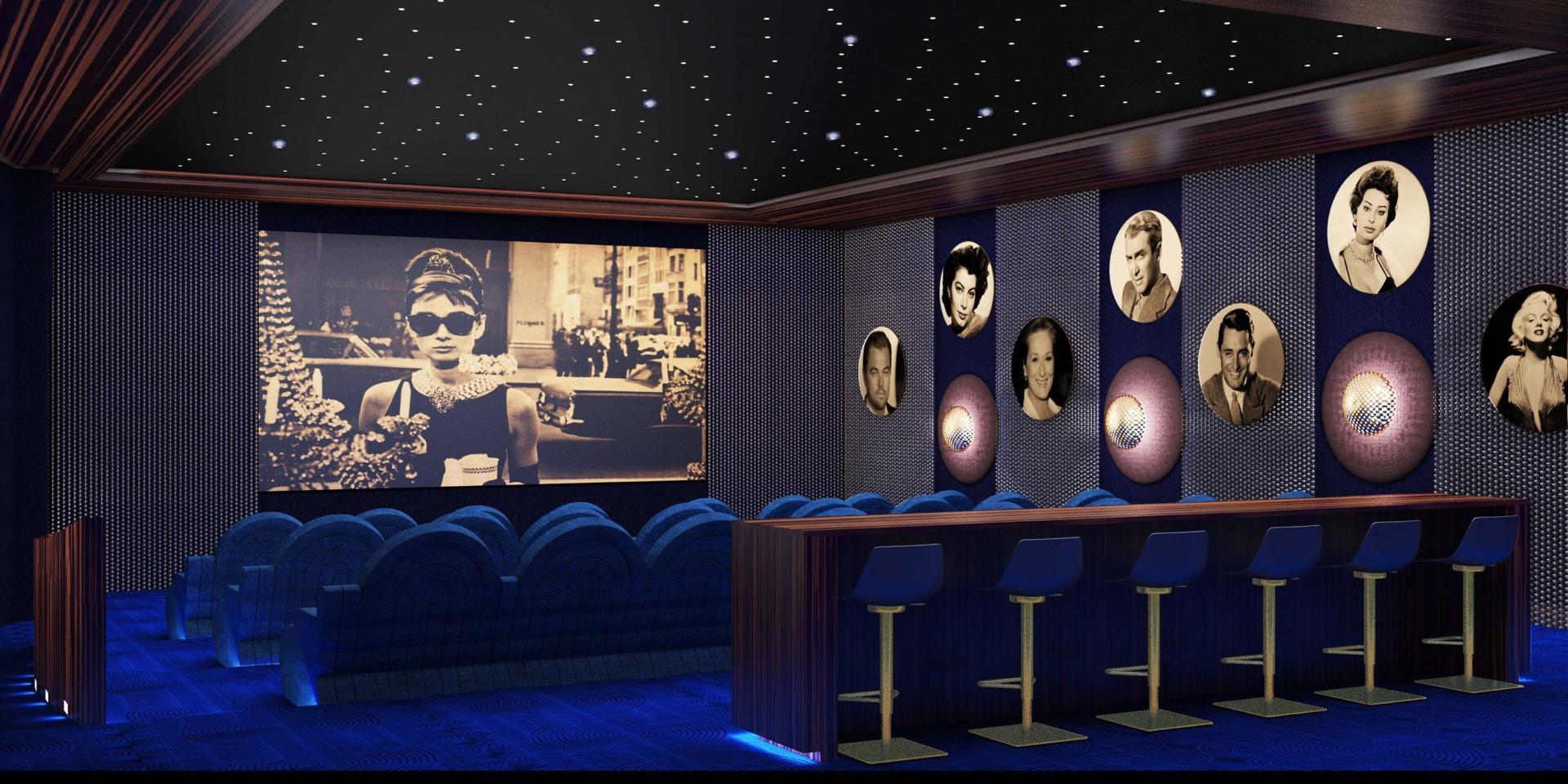 Movie-screening theater image