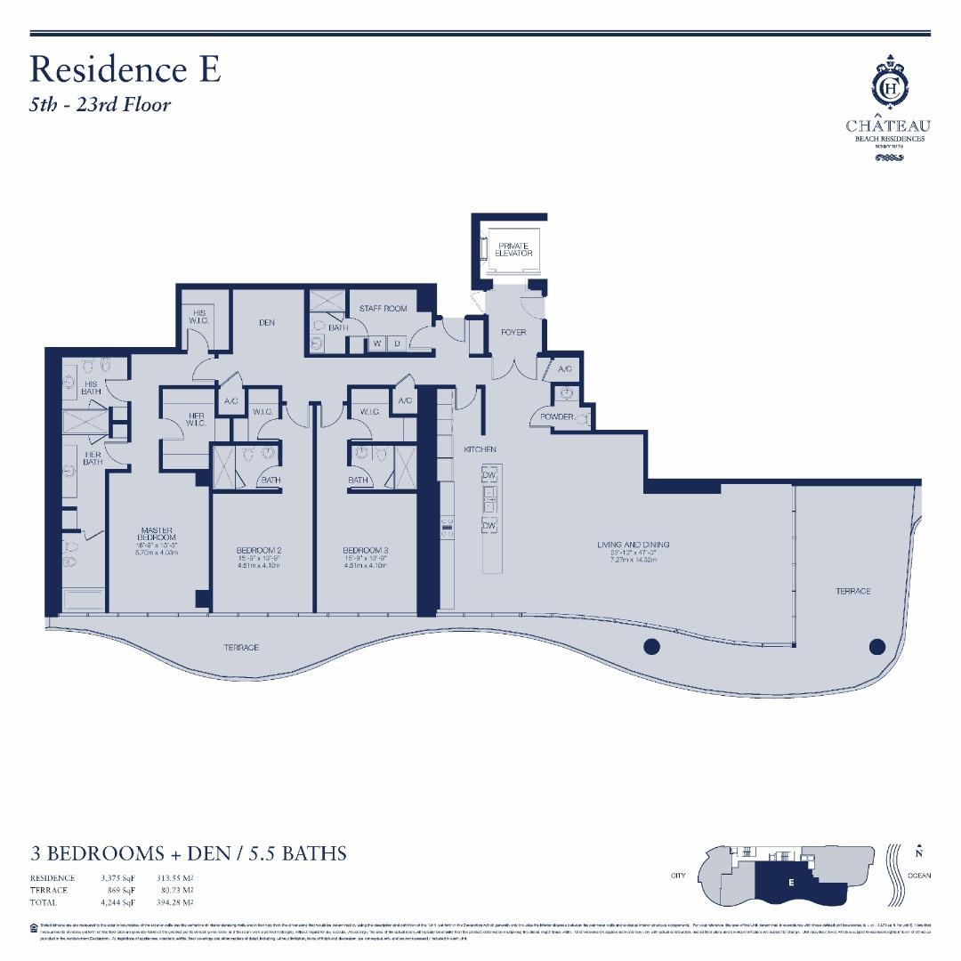 02-E   502 - 2302 floor plan image