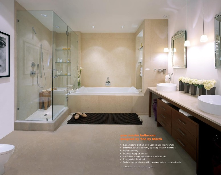 Your Master Bathroom designed by Yoo by Starck image