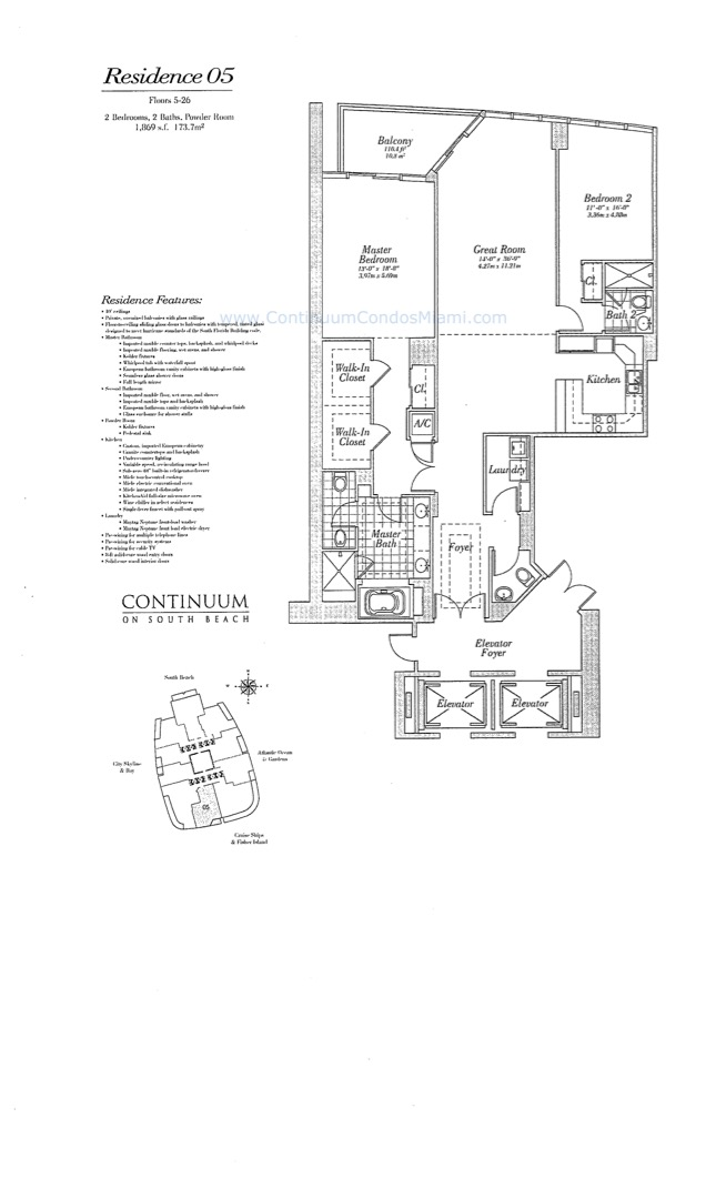 Floor plan image 05 - 2/2/1  - 1869 sqft image