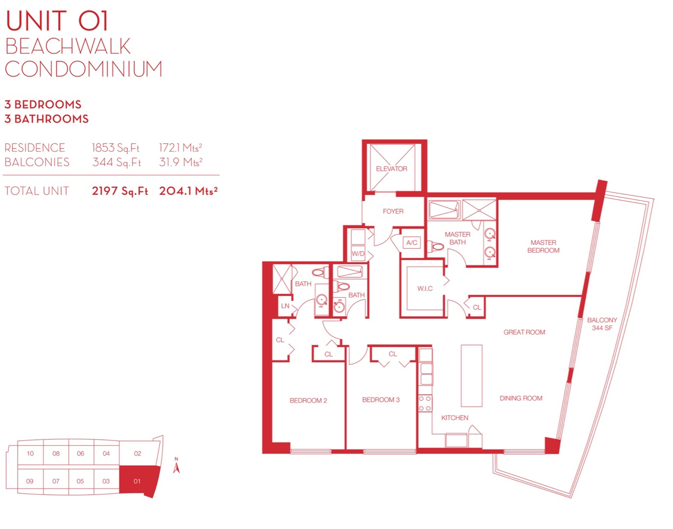 Floor plan image 01 - 3/3  - 1853 sqft image