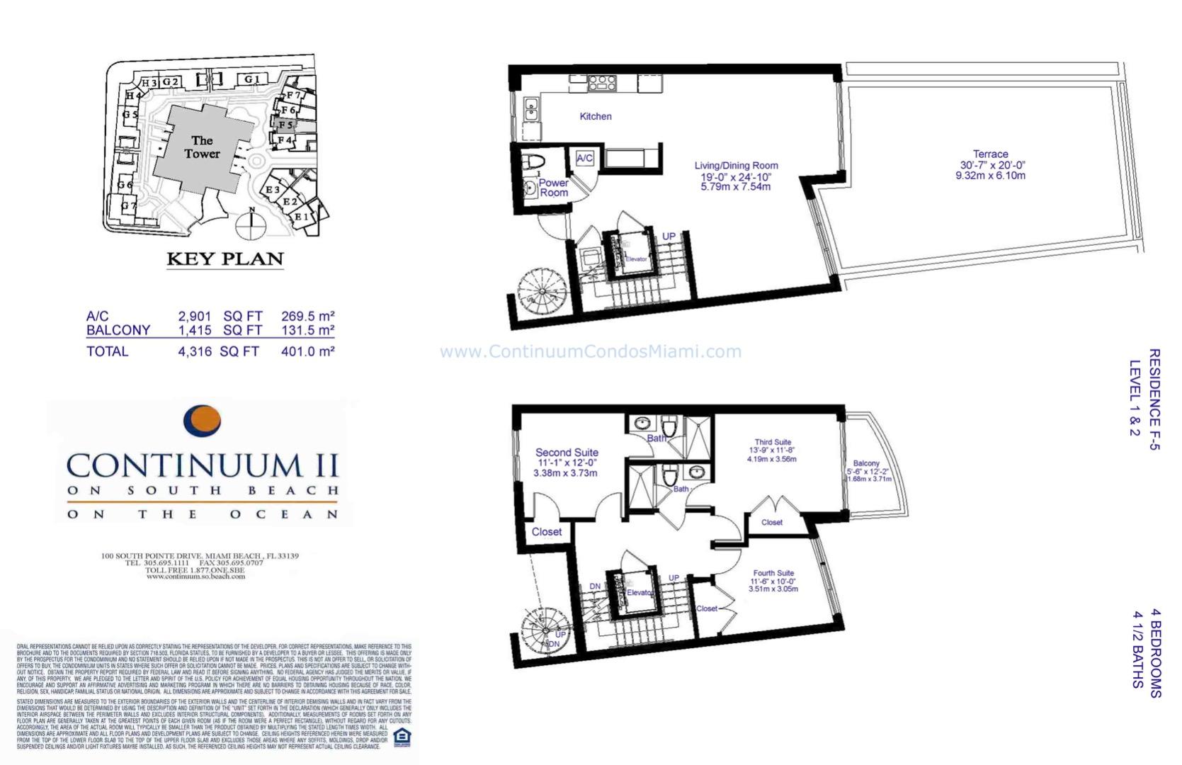 Floor plan image TH5 - 4/4/1  - 4316 sqft image