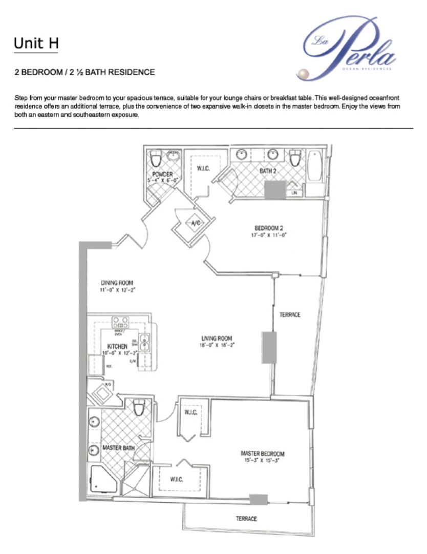 Floor plan image G - 3/2.5  - 1715 sqft image