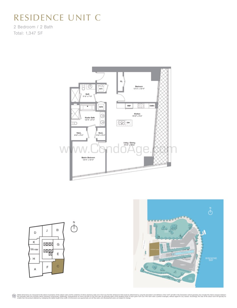 Floor plan image C - 2/2  - 1347 sqft image