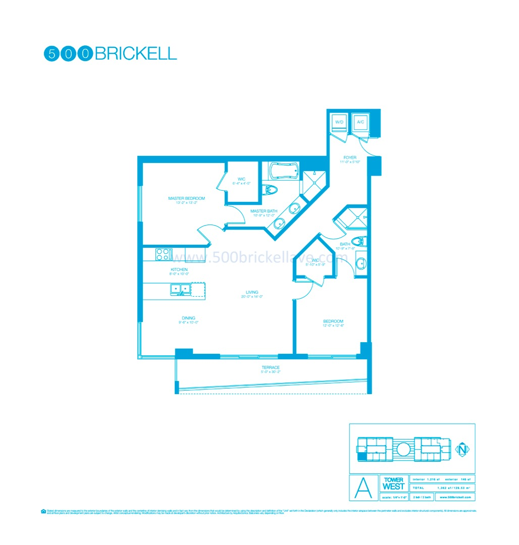 Floor plan image A - 2/2  - 1216 sqft image
