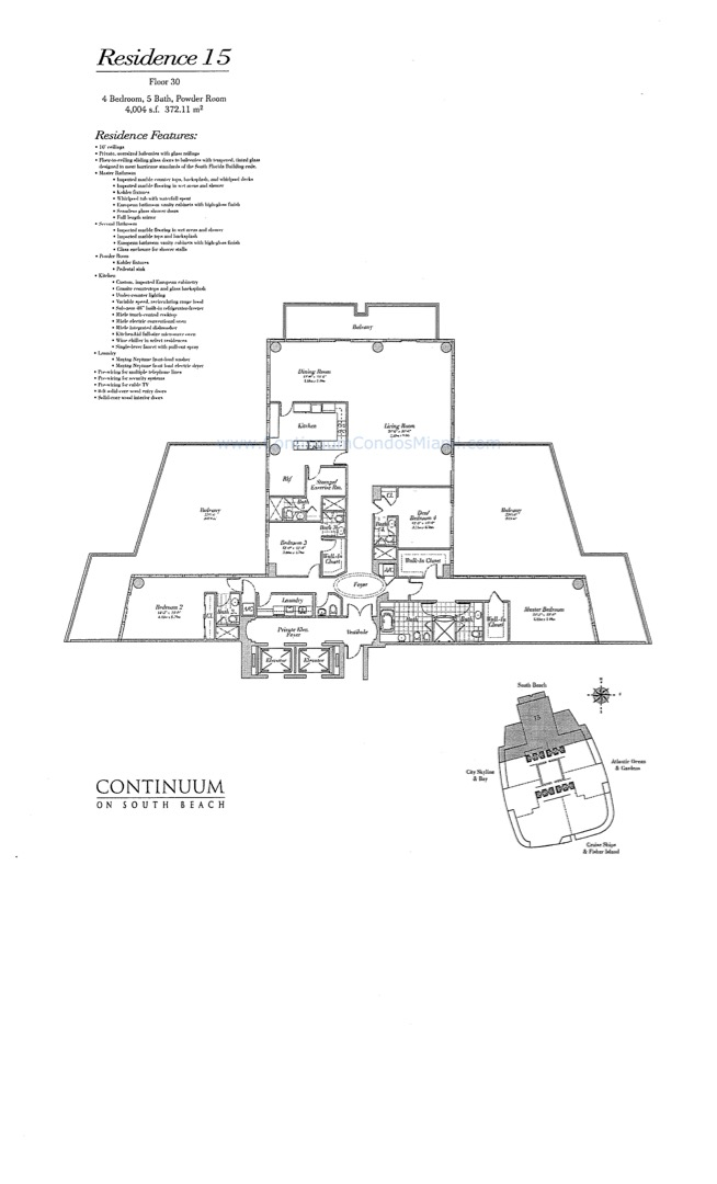 Floor plan image 15 - 5/5/0  - 4004 sqft image