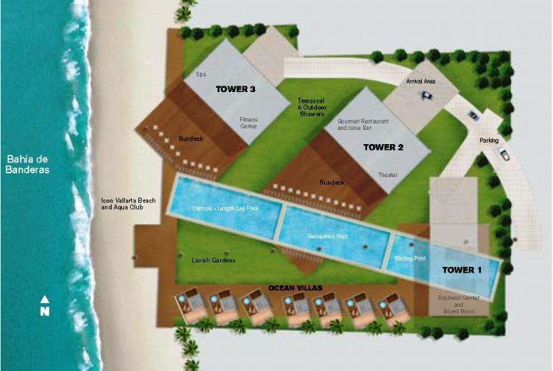 Key plan Icon_Vallarta_Site_Planjpg image