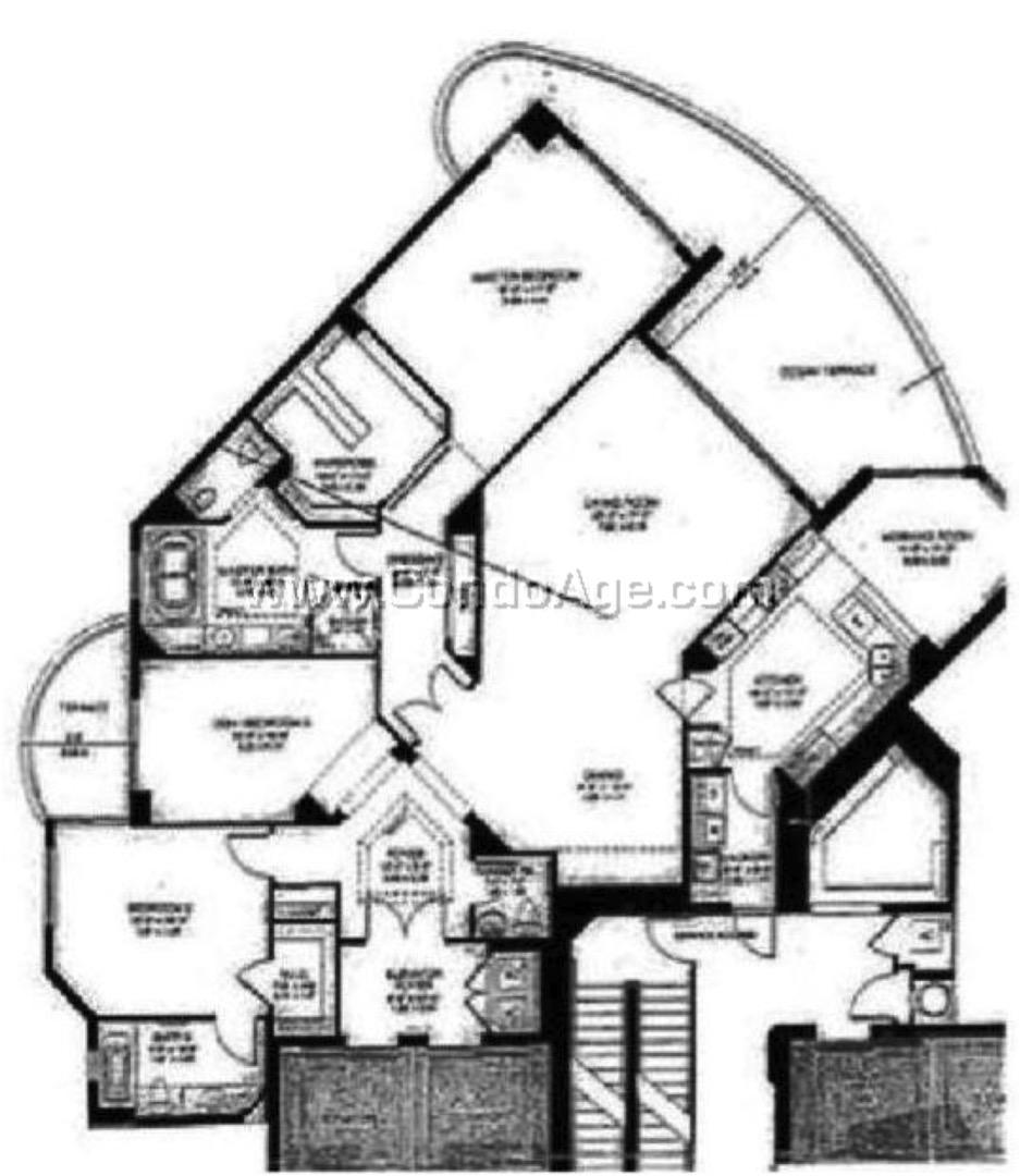 A floor plan image