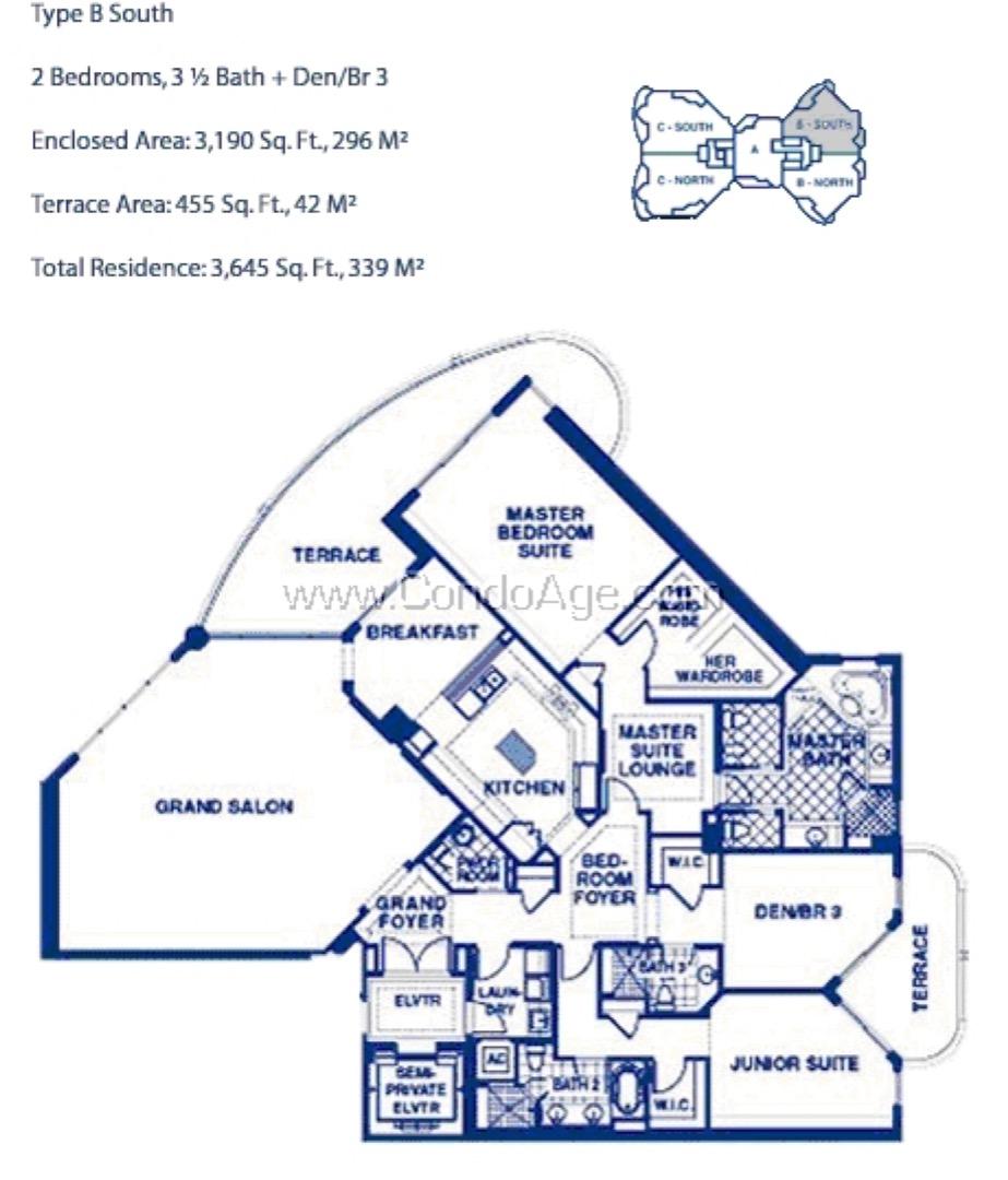 Floor plan image BS - 2/3/1  - 3190 sqft image
