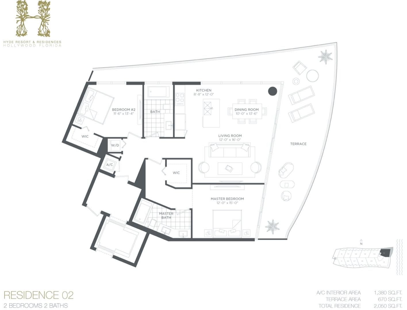 Floor plan image B - 2/2  - 1380 sqft image