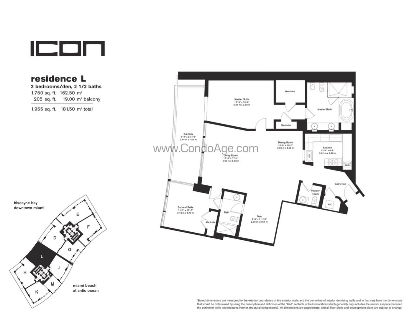 Floor plan image L - 2/2/1  - 1750 sqft image